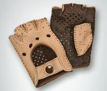 Damen Autohandschuh ohne Finger