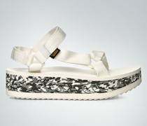 Damen Schuhe Sandalen mit Plareau-Sohle