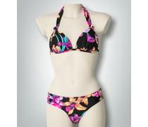 Damen Bademode Bikini mit Flower-Print