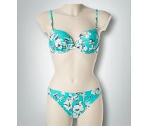 Bademode Bikini mit Blumenmuster