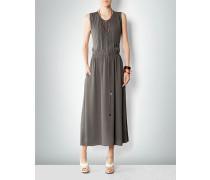 Damen Kleid mit Falten und Tunnelzug