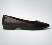 Damen Schuhe Ballerina mit Snake-Print