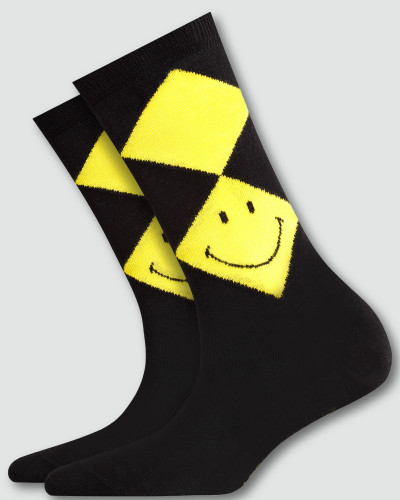 Socken Socken mit Smiley