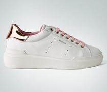 Schuhe Sneaker mit Roségold-Details