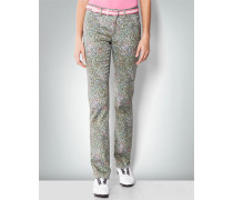 Damen Golfhose in Modern Fit mit Allover-Dessin