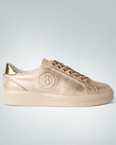 Bogner Damen Schuhe Sneaker in Gold-Metallic