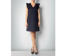 Kleid aus Baumwoll-Seiden-Jacquard