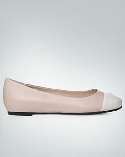 Schuhe Ballerinas mit Kontrast-Kappe