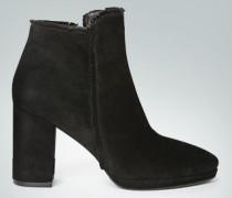 Schuhe Stiefelette mit Fransen-Borte