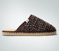 Damen Schuhe Homeslipper in melierter Optik