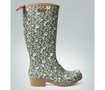 Damen Schuhe Gummistiefel im floralen Dessin