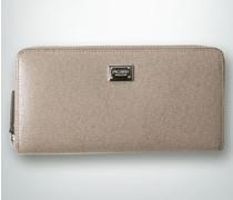 Damen Geldbörse mit Saffiano-Prägung