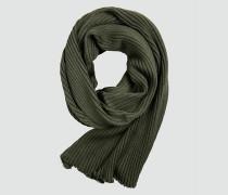 Schal aus Rippenstrick