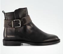 Schuhe Stiefeletten mit Zierschließe