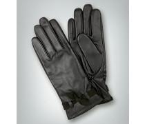 Damen Handschuhe Ziegenleder schwarz