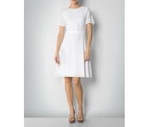 Damen Kleid mit modischer Lochmusterung
