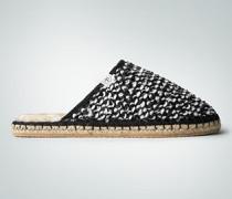Schuhe Pantoffel mit Pailletten
