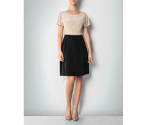 Kleid im Two-Tone-Look