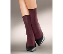 Damen Socken Socken aus softem Melange Garn