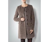 Damen Mantel in Fell-Optik