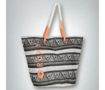 Damen Strandtasche aus Stroh