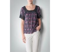 Bluse mit floralem Paisley-Dessin