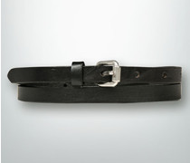 Damen Gürtel Ledergürtel in schmaler Form