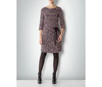 Damen Kleid aus Seide in Tweed-Optik