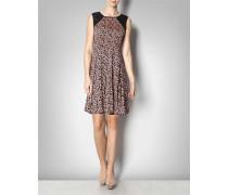 Kurzes Kleid mit Leopardenprint