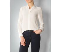 Damen Bluse aus bügelleichtem Seiden-Krepp