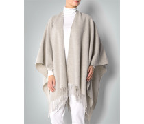 Damen Pullover Poncho Cape aus Wolle