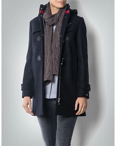 tommy hilfiger damen damen mantel im duffelcoat stil blau. Black Bedroom Furniture Sets. Home Design Ideas