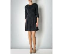 Damen Jerseykleid mit Polka Dots