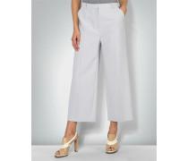 Damen Hose Culotte in Struktur-Qualität