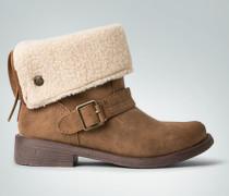 Schuhe Stiefelette mit Kunstfellfutter