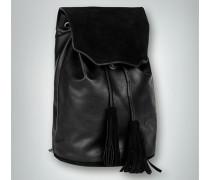 Damen Rucksack aus Kunstleder