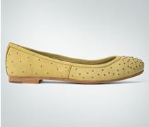 Damen Schuhe Ballerina mit Allover-Nieten