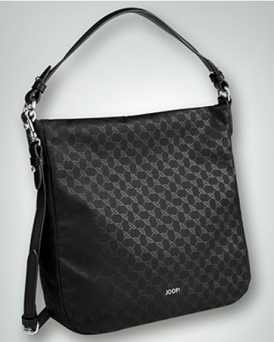 Damen Hobo Bag mit Allover Logo Print