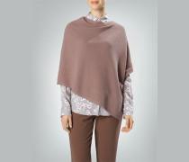 Damen Pullover Poncho mit asymmetrischem Saumverlauf