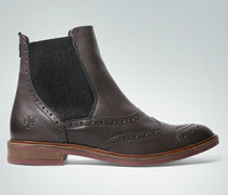 Schuhe Chelsea Boots mit Lochmuster