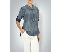 Bluse im Patchwork-Look