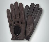 Damen Handschuhe Hirschnappa mocca