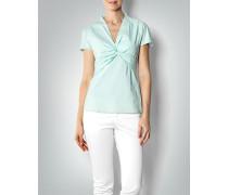 Damen Bluse mit Knoten-Drapé