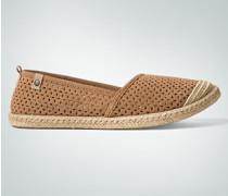Damen Schuhe Slipper im Espadrilles-Style