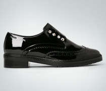 Damen Schuhe Slipper mit Ziernieten
