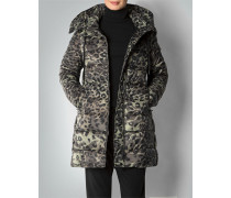 Damen Mantel im Animal-Print