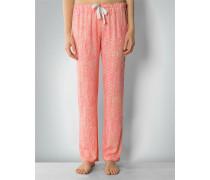 Damen Nachtwäsche Pyjama-Pants in leuchtender Farbigkeit