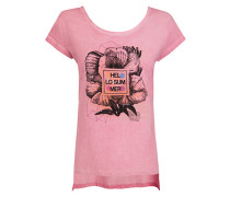 Damen T-Shirt mit raffiniertem Rückenausschnitt
