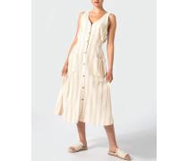 Midi-Kleid aus Leinen