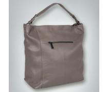 Hobo Bag in genarbter Optik